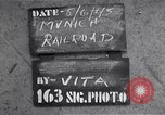 Image of destroyed Munich Railroad Station Munich Germany, 1945, second 2 stock footage video 65675036700
