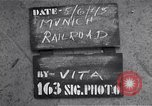 Image of destroyed Munich Railroad Station Munich Germany, 1945, second 3 stock footage video 65675036700
