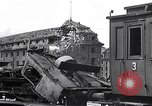 Image of destroyed Munich Railroad Station Munich Germany, 1945, second 5 stock footage video 65675036700