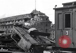 Image of destroyed Munich Railroad Station Munich Germany, 1945, second 6 stock footage video 65675036700