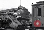 Image of destroyed Munich Railroad Station Munich Germany, 1945, second 7 stock footage video 65675036700