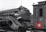 Image of destroyed Munich Railroad Station Munich Germany, 1945, second 8 stock footage video 65675036700