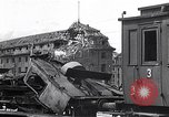 Image of destroyed Munich Railroad Station Munich Germany, 1945, second 9 stock footage video 65675036700
