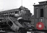 Image of destroyed Munich Railroad Station Munich Germany, 1945, second 10 stock footage video 65675036700