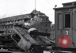 Image of destroyed Munich Railroad Station Munich Germany, 1945, second 12 stock footage video 65675036700