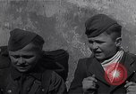 Image of young German soldiers Imst Austria, 1945, second 9 stock footage video 65675036702