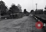 Image of German troops march Ivrea Italy, 1945, second 12 stock footage video 65675036703