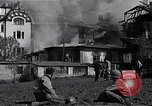 Image of fire at headquarters Florence Italy, 1945, second 3 stock footage video 65675036708