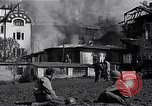 Image of fire at headquarters Florence Italy, 1945, second 4 stock footage video 65675036708