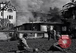 Image of fire at headquarters Florence Italy, 1945, second 5 stock footage video 65675036708