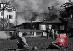 Image of fire at headquarters Florence Italy, 1945, second 9 stock footage video 65675036708