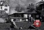 Image of fire at headquarters Florence Italy, 1945, second 10 stock footage video 65675036708