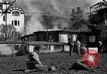 Image of fire at headquarters Florence Italy, 1945, second 11 stock footage video 65675036708