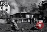 Image of fire at headquarters Florence Italy, 1945, second 12 stock footage video 65675036708