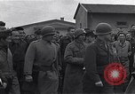 Image of United States and Russian soldiers Lubz Germany, 1945, second 8 stock footage video 65675036711