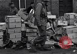 Image of debris left by German Army Ludwigslust Germany, 1945, second 8 stock footage video 65675036712