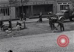 Image of debris left by German Army Ludwigslust Germany, 1945, second 9 stock footage video 65675036713