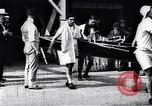 Image of Cambridge versus Oxford shell boat race London England United Kingdom, 1900, second 7 stock footage video 65675036714