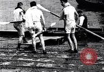 Image of Cambridge versus Oxford shell boat race London England United Kingdom, 1900, second 12 stock footage video 65675036714