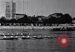 Image of racing shell race London England United Kingdom, 1900, second 8 stock footage video 65675036715