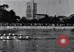 Image of racing shell race London England United Kingdom, 1900, second 9 stock footage video 65675036715