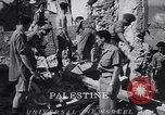 Image of dynamite explosion Palestine, 1947, second 5 stock footage video 65675036720