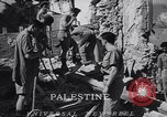 Image of dynamite explosion Palestine, 1947, second 6 stock footage video 65675036720