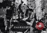 Image of dynamite explosion Palestine, 1947, second 7 stock footage video 65675036720