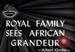 Image of British monarchs Africa, 1947, second 3 stock footage video 65675036723