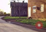 Image of houses in countryside Aliquippa Pennsylvania USA, 1970, second 1 stock footage video 65675036732