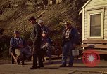 Image of Shift change at a coal mine  Pennsylvania USA, 1970, second 7 stock footage video 65675036733