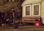 Image of Shift change at a coal mine  Pennsylvania USA, 1970, second 10 stock footage video 65675036733
