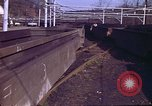 Image of Coal car dumping machine Aliquippa Pennsylvania USA, 1970, second 4 stock footage video 65675036734