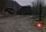 Image of Abandoned coal mine Aliquippa Pennsylvania USA, 1970, second 4 stock footage video 65675036735
