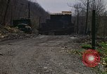 Image of Abandoned coal mine Aliquippa Pennsylvania USA, 1970, second 8 stock footage video 65675036735