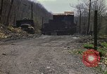 Image of Abandoned coal mine Aliquippa Pennsylvania USA, 1970, second 12 stock footage video 65675036735