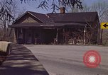 Image of old house on roadside Aliquippa Pennsylvania USA, 1970, second 5 stock footage video 65675036736
