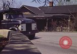 Image of old house on roadside Aliquippa Pennsylvania USA, 1970, second 11 stock footage video 65675036736