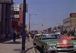 Image of City Street Gary Indiana USA, 1970, second 4 stock footage video 65675036739