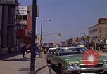 Image of City Street Gary Indiana USA, 1970, second 5 stock footage video 65675036739