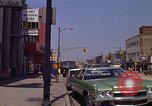 Image of City Street Gary Indiana USA, 1970, second 7 stock footage video 65675036739