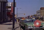 Image of City Street Gary Indiana USA, 1970, second 8 stock footage video 65675036739