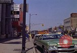 Image of City Street Gary Indiana USA, 1970, second 9 stock footage video 65675036739