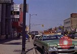 Image of City Street Gary Indiana USA, 1970, second 10 stock footage video 65675036739