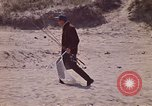 Image of fisherman Gary Indiana USA, 1970, second 4 stock footage video 65675036741