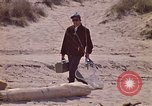 Image of fisherman Gary Indiana USA, 1970, second 8 stock footage video 65675036741