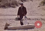 Image of fisherman Gary Indiana USA, 1970, second 9 stock footage video 65675036741