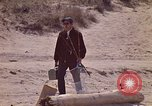 Image of fisherman Gary Indiana USA, 1970, second 10 stock footage video 65675036741