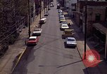 Image of neighborhood near steel mill Aliquippa Pennsylvania USA, 1970, second 7 stock footage video 65675036743