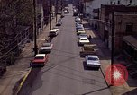 Image of neighborhood near steel mill Aliquippa Pennsylvania USA, 1970, second 8 stock footage video 65675036743